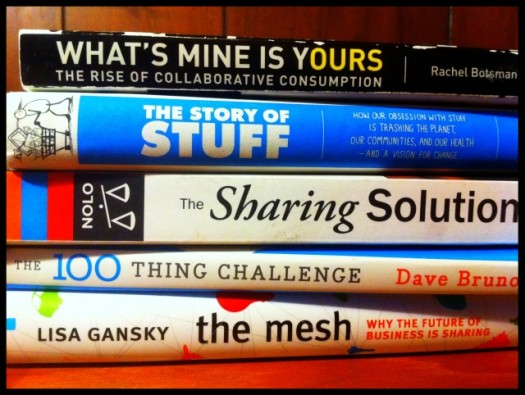 books on sharing and collaborative consumption
